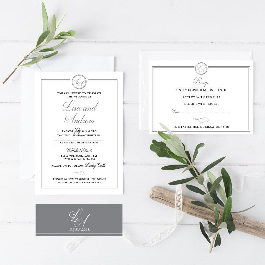 Helen Scott Design - Wedding and Event Stationery