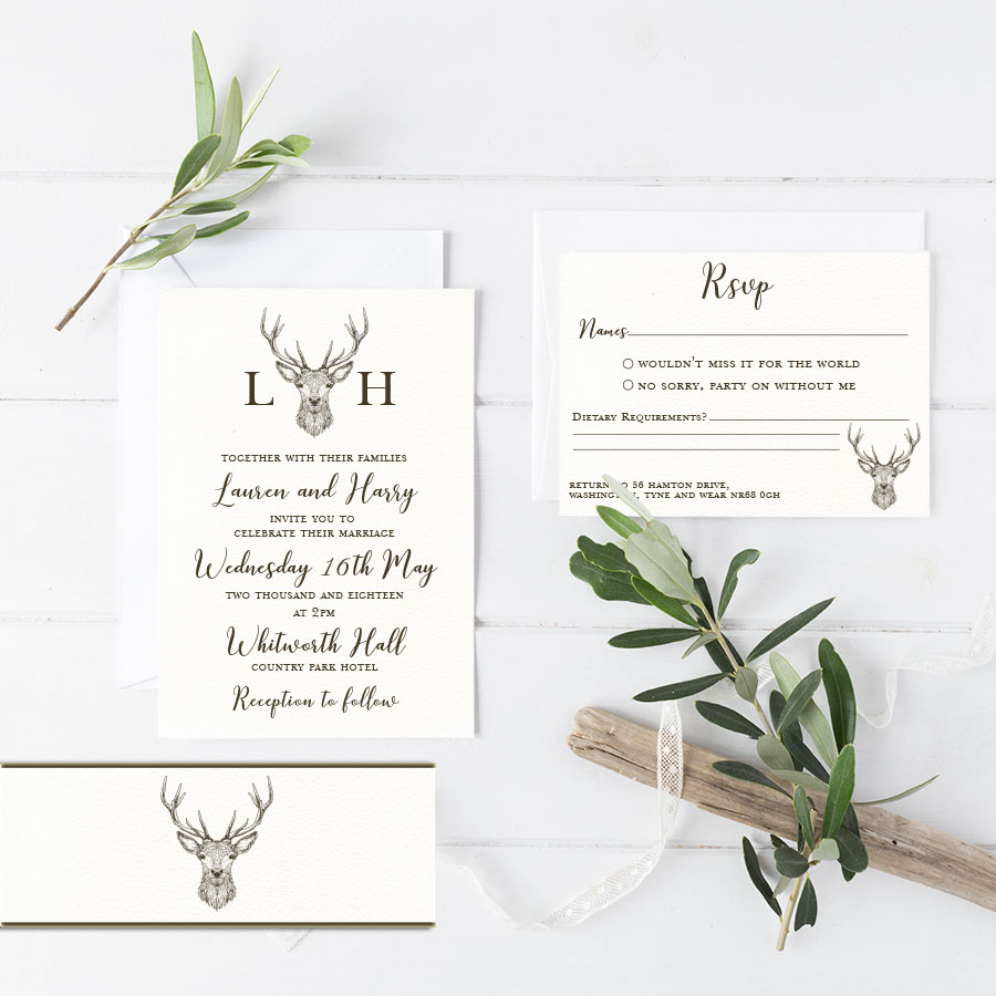 Stag Invitation